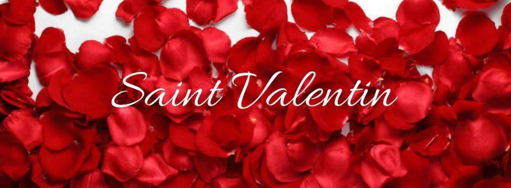 Saint valentin bandeau